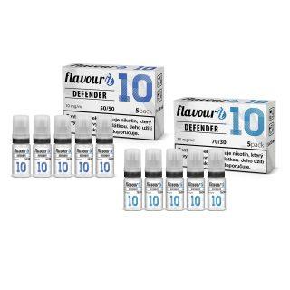 Flavourit Defender nikotinos bazis 10mg 5x10ml