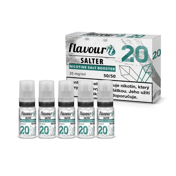 Flavourit Salter nikotinos bazis 20mg 50-50 5x10ml