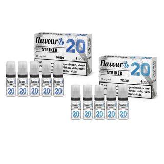 Flavourit Striker nikotinos bazis 20mg 5x10ml