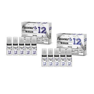 Flavourit Winger nikotinos bazis 12mg 5x10ml