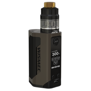 Wismec Reuleaux RX Gen3 Gnome tankkal elektromos cigaretta keszlet szinek barna