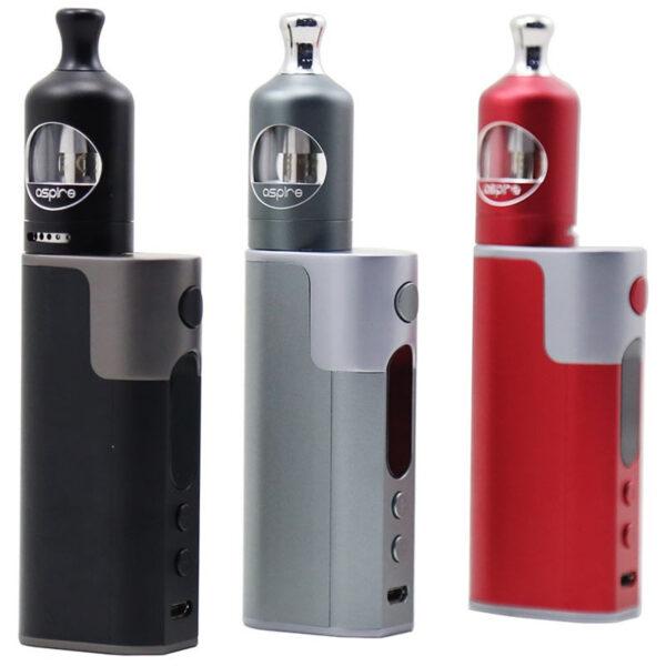 Aspire Zelos elektromos cigaretta keszlet Nautilus 2 tankkal 50W szinek