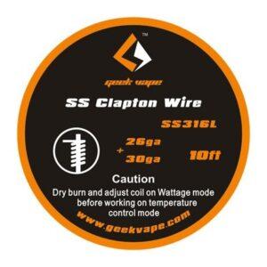 GeekVape Clapton SS316 huzal