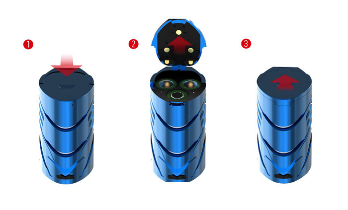 Smok T-Priv 3 elektromos cigaretta keszlet akkumulatorok