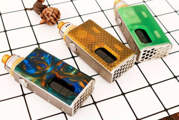 Wismec Luxotic box mod Tobhino tankkal