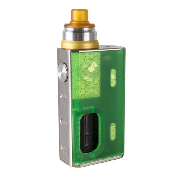 Wismec Luxotic box mod Tobhino tankkal szinek Green Honeycomb