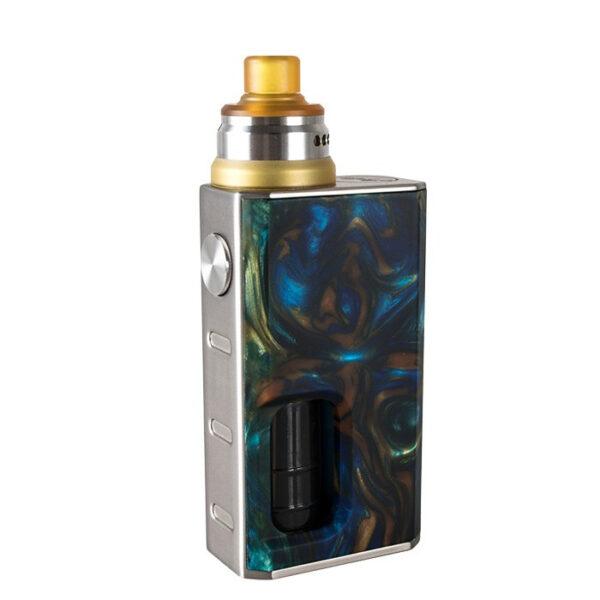 Wismec Luxotic box mod Tobhino tankkal szinek Swirled Metallic Resin