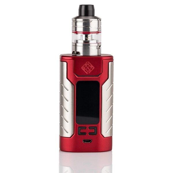 Wismec Sinuous FJ200 elektromos cigaretta keszlet Divider tankkal szinek piros