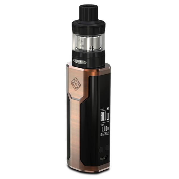 Wismec Sinuous P80 elektromos cigaretta keszlet Elabo Mini tankkal szinek bronz