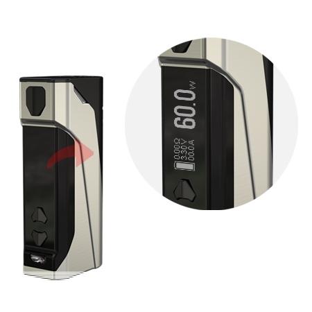 Wismec CB-60 VW elektromos cigaretta keszlet Amor NS tankkal kijelzo