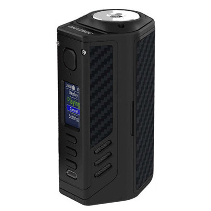 Lost Vape Triade DNA250C mod szinek black frame black grey kevlar