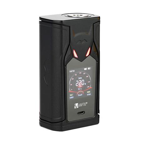 Vaptio Super Bat 220W TC elektromos cigaretta keszlet Frogman tankkal kijelzo