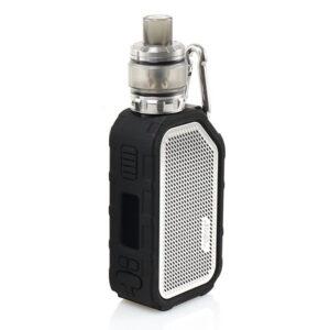 Wismec Active Bluetooth Music TC elektromos cigaretta készlet Amor NS PLUS tankkal 2100 mAh szinek ezust