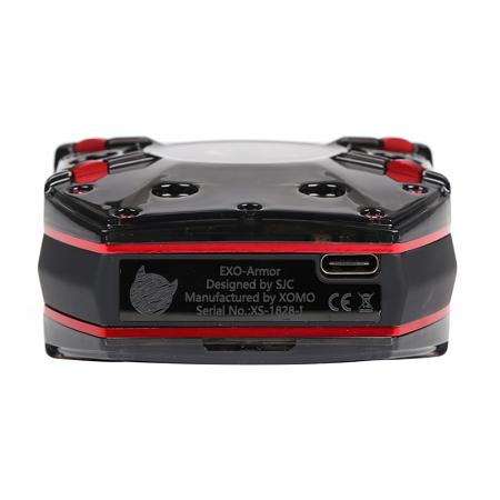Xomo Exo-Armor 300W TC mod USB C port