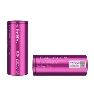 EFEST IMR 26650 5000MAH 45A akkumulator