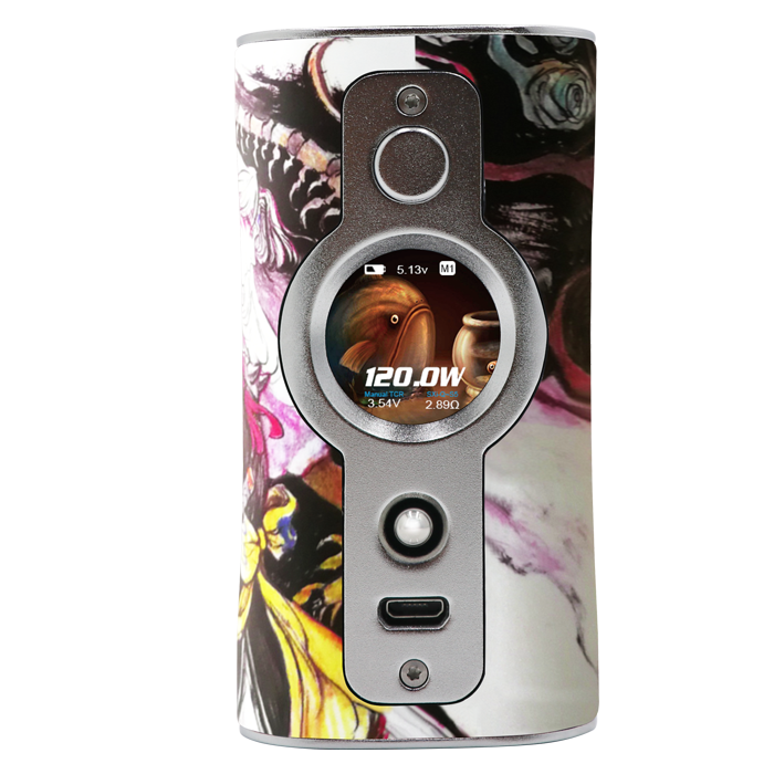 Vsticking VK530 box mod White Daity Silver