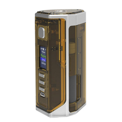 Lost Vape Drone BF DNA 250C squonk mod SS-Amber Ultem