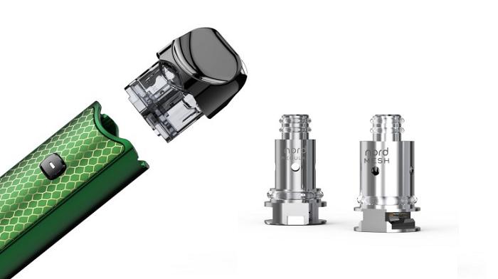 Smok Nord Pod Resin keszlet akkumulator cartridge pod