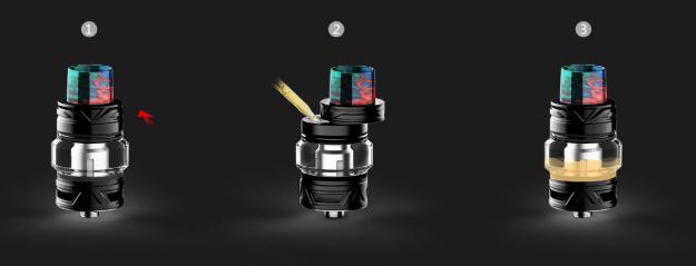 VooPoo Drag Mini elektromos cigaretta keszlet Uforce T2 tankkal liquid toltes