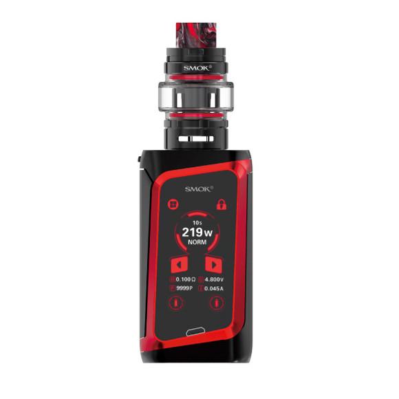 Smok Morph 219W TC elektromos cigaretta keszlet TF tankkal fekete-piros