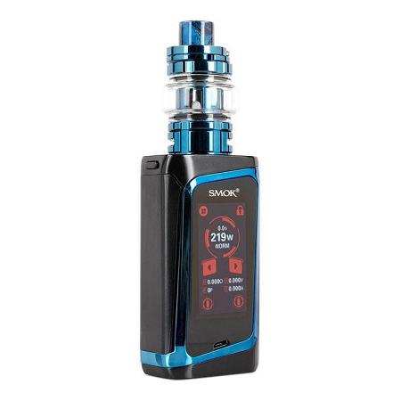 Smok Morph 219W TC elektromos cigaretta keszlet TF tankkal kijelzo