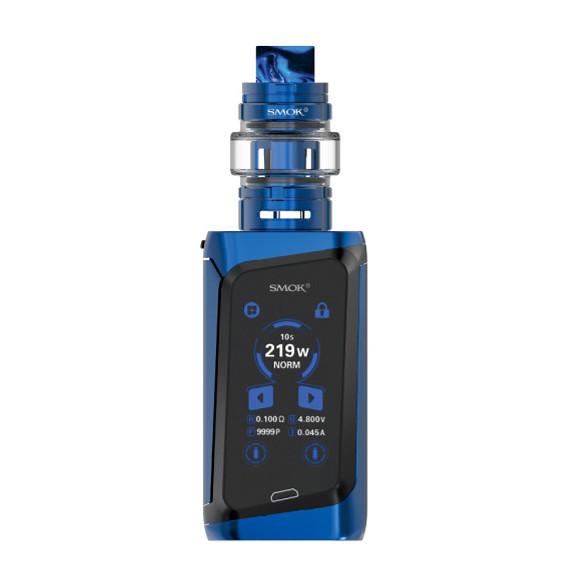 Smok Morph 219W TC elektromos cigaretta keszlet TF tankkal prism blue