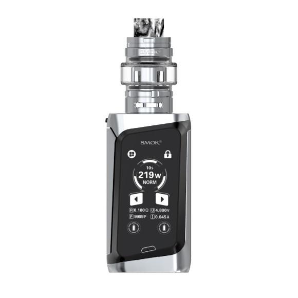 Smok Morph 219W TC elektromos cigaretta keszlet TF tankkal prism chrome