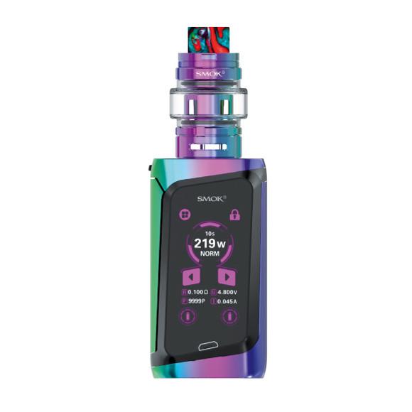 Smok Morph 219W TC elektromos cigaretta keszlet TF tankkal szivarvany