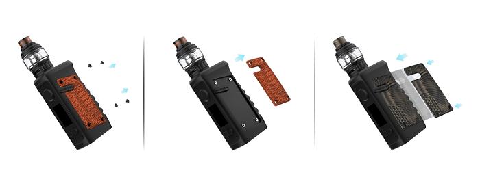Vandy Vape Jackaroo elektromos cigaretta keszlet panelek