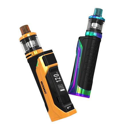 Wismec CB-80 elektromos cigaretta keszlet Amor Pro tankkal akkumulator es kijelzo