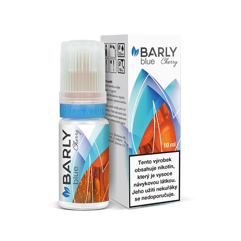Barly BLUE Cherry (Kék dohány és cseresznye) E-liquid 10 ml
