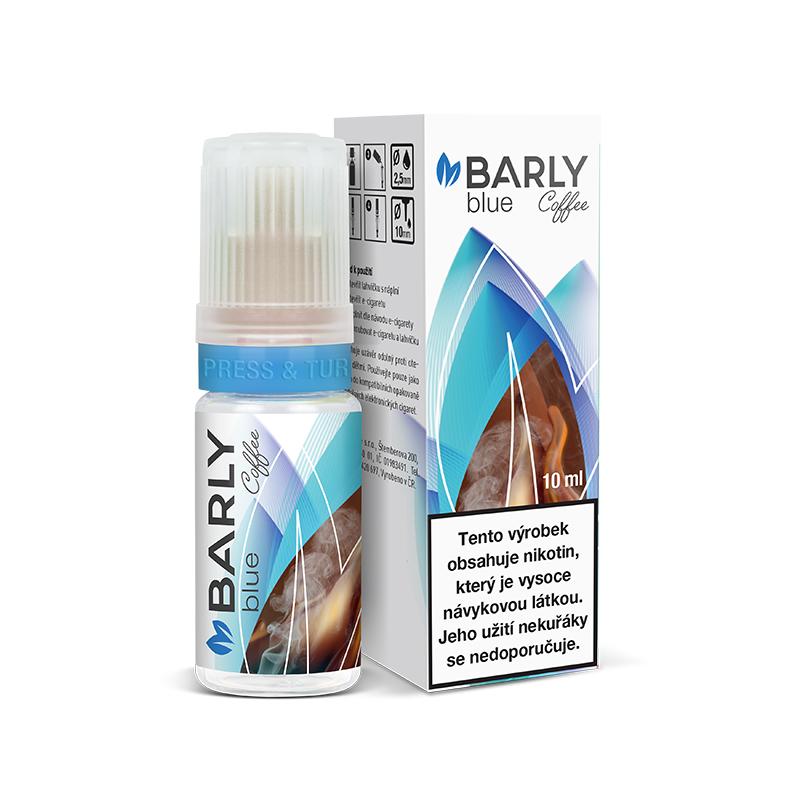Barly BLUE Coffee (Kék dohány és kávé) E-liquid 10 ml