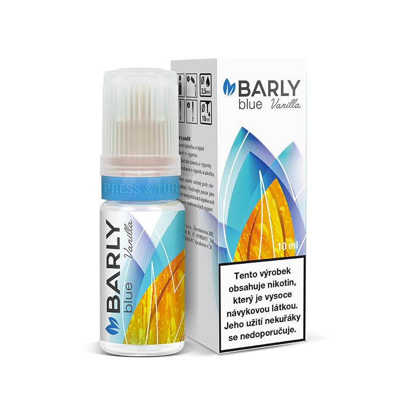Barly BLUE Vanilla (Kék dohány és vanília) E-liquid 10 ml