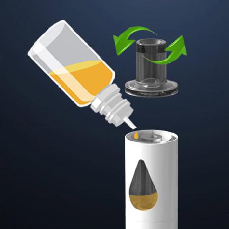 Innokin Jem Pen elektromos cigaretta keszlet liquid toltes