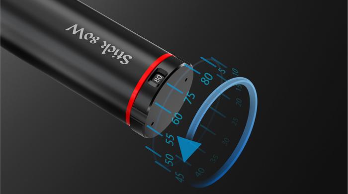 Smok Stick 80W elektromos ciaretta keszlet teljesitmeny beallitas