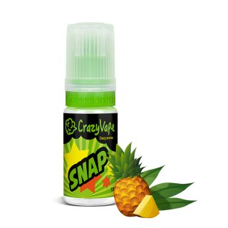 CrazyVape SNAP aroma zold tea-ananasz