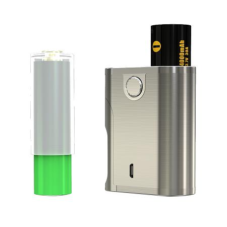 Eleaf Pico Sqeeze 2 100W TC Squonk box mod akkumulator