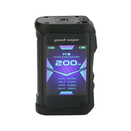 GeekVape Aegis X 200W TC box mod kijelzo