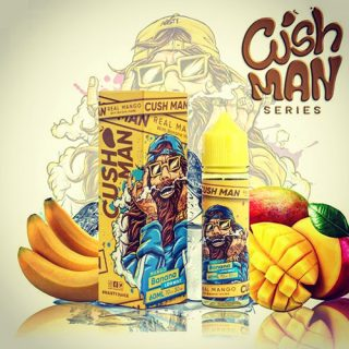nasty juice cush man banana shake and vape