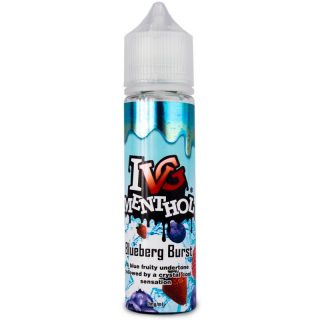 IVG Menthol Blueberg Burst SHake and vape