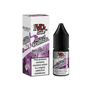 IVg salt Apple Berry Crumble