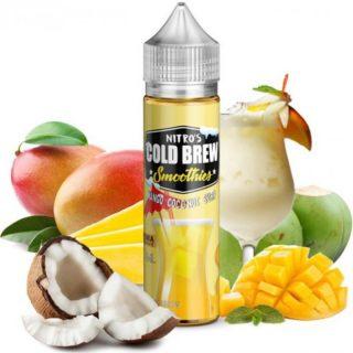Nitro´s Cold Brew shake and vape mango ananász
