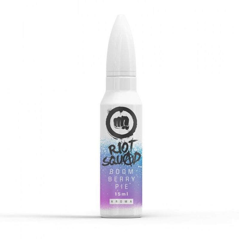 Riot squad Boom Berry Pie shake and vape