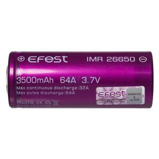 Batéria Efest IMR 26650 - 3500mAh, 64A