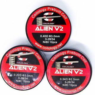 Coilology Alien V2, Ni80,
