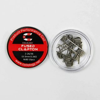 Coilology Fused Clapton, Ni80 0.34