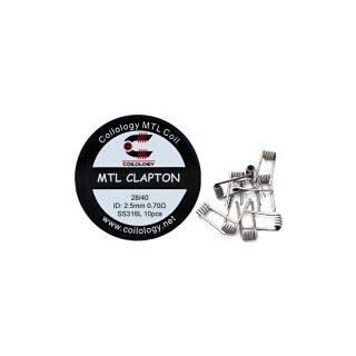 Coilology MTL Clapton SS316L