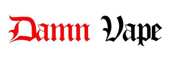 Damn vape logo