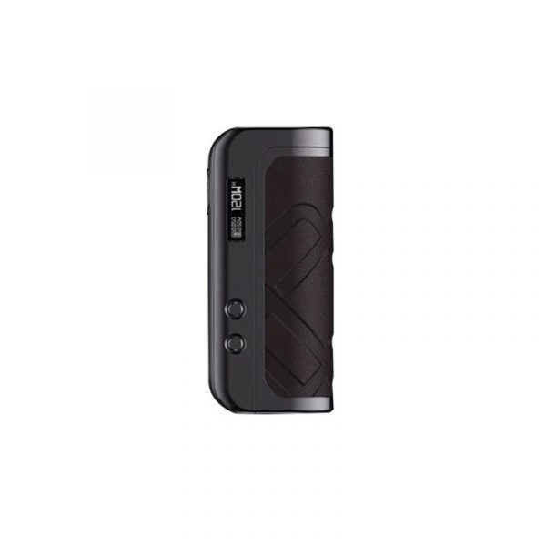 AUGVAPE Foxy One 120W 21700 Box Mód Gunmetal Brown Leather