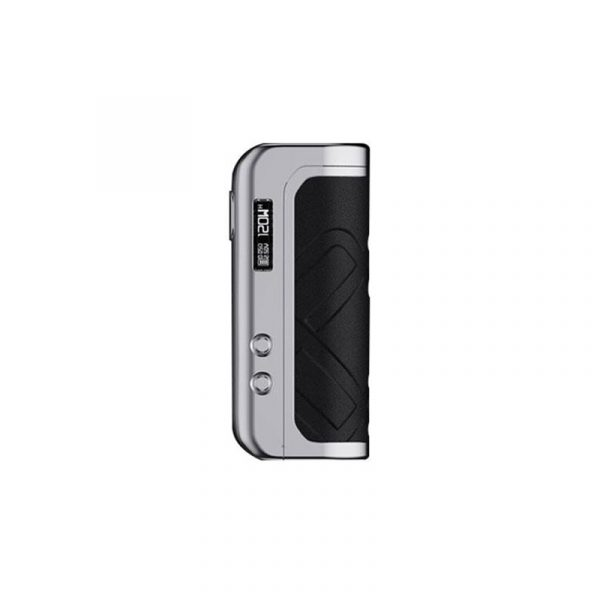 AUGVAPE Foxy One 120W 21700 Box Mód Silver Black Leather